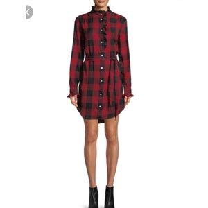 FRAME- Buffalo Check flannel dress